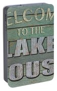 Welcome Lake House Portable Battery Charger