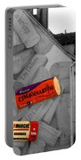 Welcome To Bordeaux Portable Battery Charger by Joan  Minchak