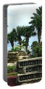 Welcome To Downtown Cocoa Beach Portable Battery Charger
