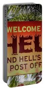 Welcome To Hell Portable Battery Charger