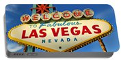 Welcome To Las Vegas Sign Portable Battery Charger