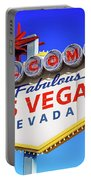 Welcome To Las Vegas Sign Only Boulder Highway Day Portable Battery Charger