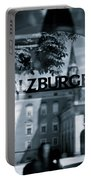 Welcome To Salzburg Portable Battery Charger by Dave Bowman