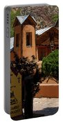 Welcome To Santuario De Chimayo Portable Battery Charger