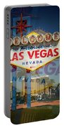 Welcome To Vegas Xiii Portable Battery Charger