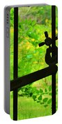 Welded Garden Gate Portable Battery Charger