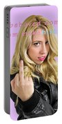 Well Behaved Women Seldom Make History Portable Battery Charger