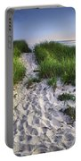 Wellfleet Beach Path Portable Battery Charger