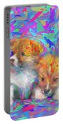 Welsh Corgi Pups Portable Battery Charger