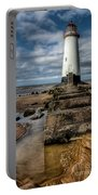 Welsh Lighthouse  Portable Battery Charger by Adrian Evans