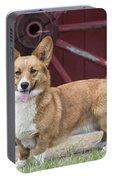 Welsh Pembroke Corgi Dog Outdoors Portable Battery Charger