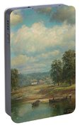 Weltz Ivan 1866-1926 By The River Portable Battery Charger