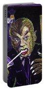 Werewolf Drinking A Pina Colada At Trader Vic's Portable Battery Charger