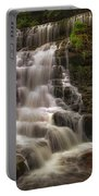 West Bank View Of Sgwd Isaf Clun-gwyn Falls Portable Battery Charger