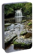 West Burton Falls, Yorkshire, England Portable Battery Charger