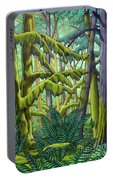 West Coast Landscape Painting Portable Battery Charger