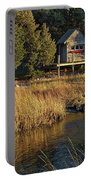 West Falmouth Boathouse Portable Battery Charger