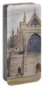 West Front, Exeter Cathedral Portable Battery Charger