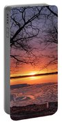 West Pine Road End Sunrise Portable Battery Charger