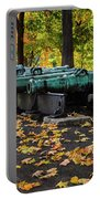 West Point Fall Leaves Portable Battery Charger