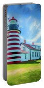 West Quaddy Head Lighthouse Portable Battery Charger