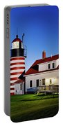 West Quoddy Lighthouse Portable Battery Charger