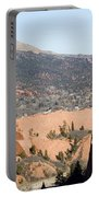 West Springs And Distant Garden Of The Gods Portable Battery Charger