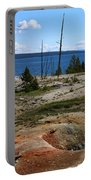 West Thumb Geyer At Yellowstone Lake Portable Battery Charger