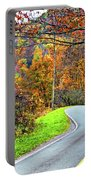 West Virginia Curves Portable Battery Charger