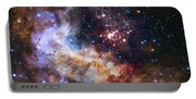 Westerlund 2 - Hubble 25th Anniversary Image Portable Battery Charger