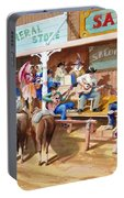 Western Jam Session Portable Battery Charger