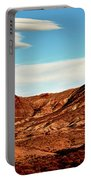 Western Mountain Scene Portable Battery Charger