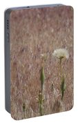 Western Salsify Seed Head Portable Battery Charger