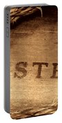 Western Stamp Branding Portable Battery Charger