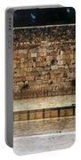 Empty Western Wall Portable Battery Charger