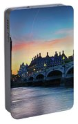 Westminster At Dusk Portable Battery Charger