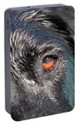 Wet Black Lab Portable Battery Charger