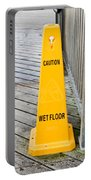Wet Floor Warning Portable Battery Charger