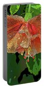 Wet Hibiscus Portable Battery Charger