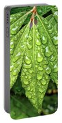 Wet Leaves Portable Battery Charger