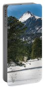 Wet Mountain Valley In Winter Portable Battery Charger