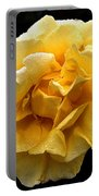 Wet Yellow Rose II Portable Battery Charger