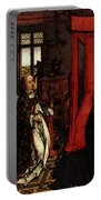 Weyden Annunciation Triptych Portable Battery Charger