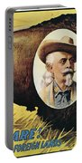 W.f.cody Poster, 1908 Portable Battery Charger