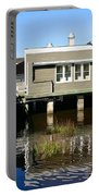 Wharf At Jekyll Island Portable Battery Charger