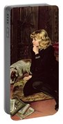 What Shall I Read Portable Battery Charger by Florence Marlowe