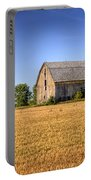 Wheat Field Barn Portable Battery Charger