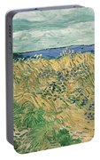 Wheat Field With Cornflowers At Wheat Fields Van Gogh Series, By Vincent Van Gogh Portable Battery Charger