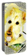 Wheaten Scottish Terrier - During Sickness And Health Portable Battery Charger