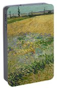 Wheatfield Arles, June 1888 Vincent Van Gogh 1853 - 1890 Portable Battery Charger